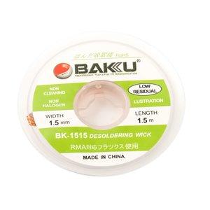 Desoldering Wick BAKU BK 1515 , ((W) 1.5 mm, (L) 1.5 m)
