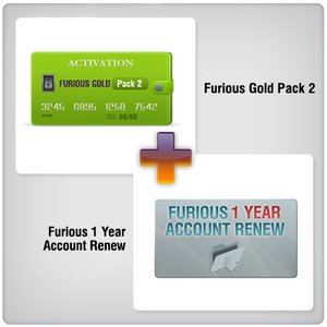 Furious 1 Year Account Renew + Furious Gold Pack 2