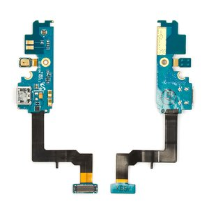 Flat Cable for Samsung I9100 Galaxy S2 Cell Phone, (microphone, charge connector, with components, rev 2.3)