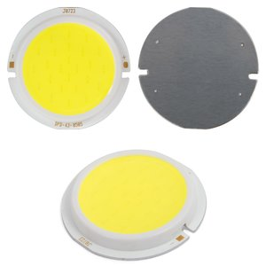 COB LED Chip 5 W (cold white, 450 lm, 43 mm, 300 mA, 15-17 V)