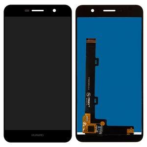LCD Huawei Y6 Pro, (black, with touchscreen, Logo Huawei, Original (PRC), TIT-AL00/TIT-U02)
