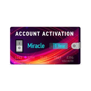 1 Year Renewal for Miracle Box with Miracle Key Dongle