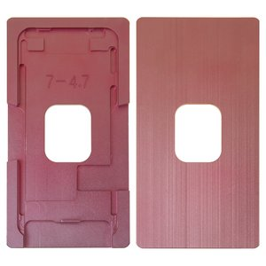 LCD Module Mould for Apple iPhone 7 Cell Phone, (aluminum,  to glue glass in a frame)