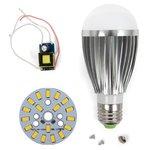 Juego de piezas para armar lámpara LED regulable SQ-Q03 5730 9 W (luz blanca cálida, E27)