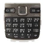 Клавиатура для Nokia E55, черная, русская
