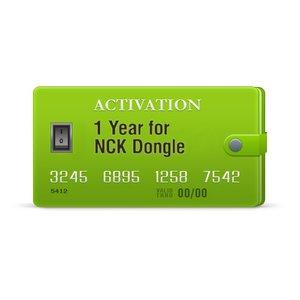 Годовая активация для NCK (Box/Dongle)