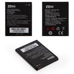 Аккумулятор для мобильных телефонов ZTE N881E, N970, U795, U807, U817, U930, U970, V807 Blade, V889 Blade 3, V930, V970, Li-ion, 3,7 В, 1600 мАч, #Li3716T42P3h594650