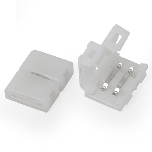Прямой 2-контактный коннектор для соединения RGB светодиодных лент SMD3528/2835
