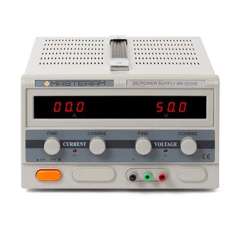 Лабораторний блок живлення Masteram MR5020E