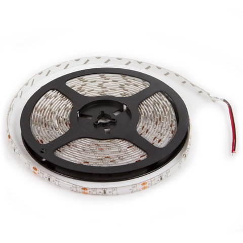 Світлодіодна стрічка, IP65, RGB, SMD 3528, без управління, 60 д м, 1 м, зелена