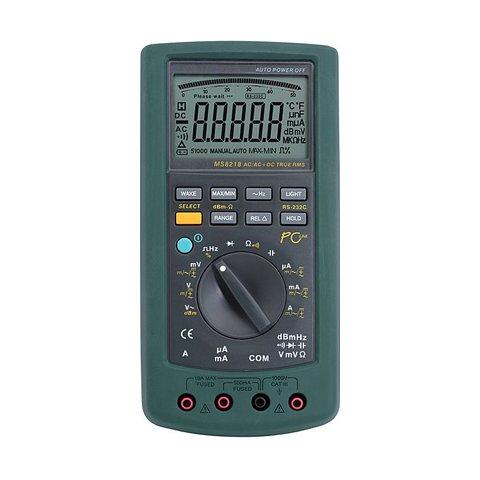 Цифровой прецизионный мультиметр MASTECH MS8218