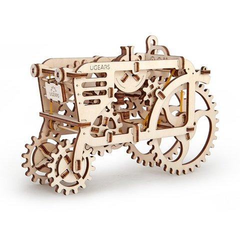 Механічний 3D-пазл UGEARS Трактор