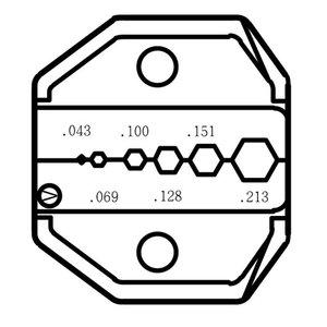 Mordaza para crimpadora Pro'sKit CP-336DV