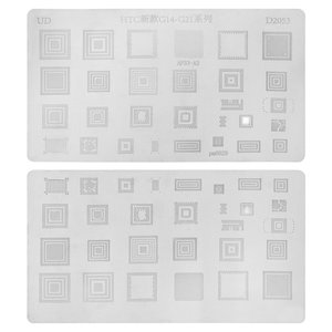 BGA Stencil D2053 for HTC Cell Phones, (29 in 1)